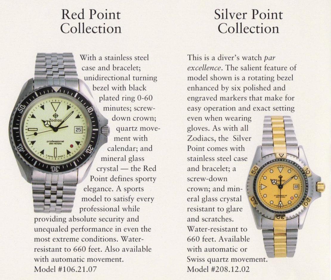 History of Zodiac's Point Series VintageZodiacPointAd