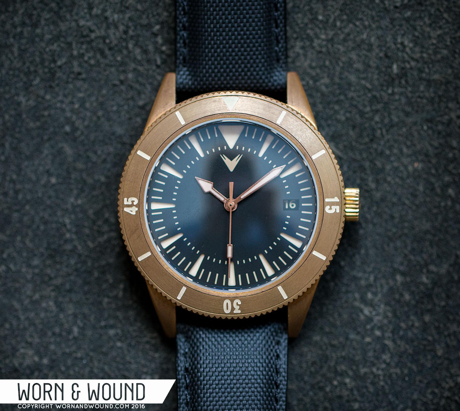 Ventus Mori Brass Diver 300  VENTUS_MORI_FACE