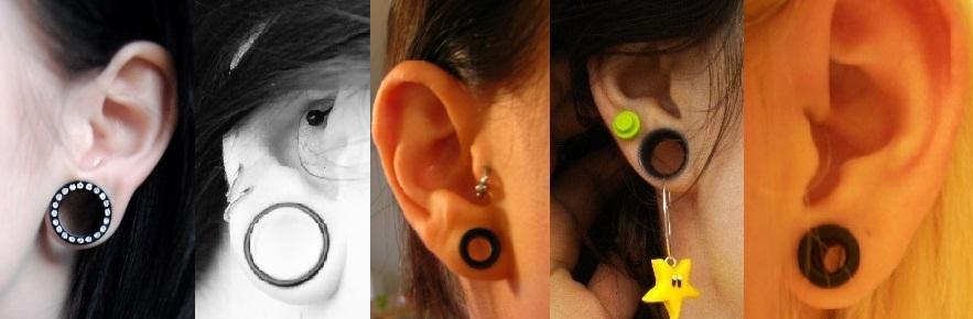Le topic Piercings/Tatoos Ear-stretch