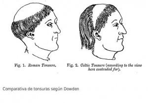 Moines du haut Moyen Âge : la tonsure celtique ? Tonsure-300x209