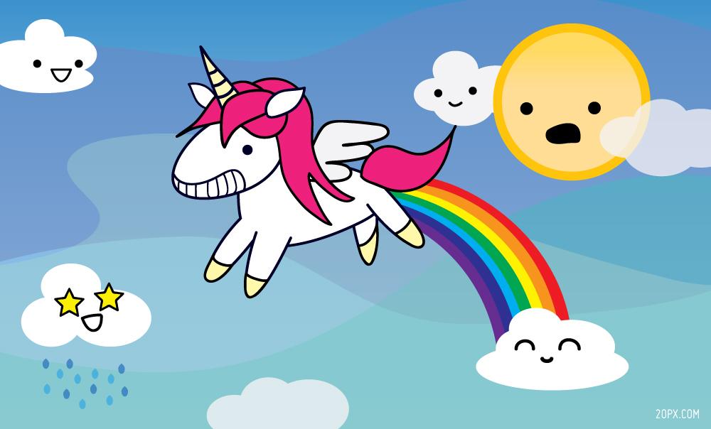 [Jeu] Association d'images - Page 18 Unicorn_pooping_a_rainbow_20px