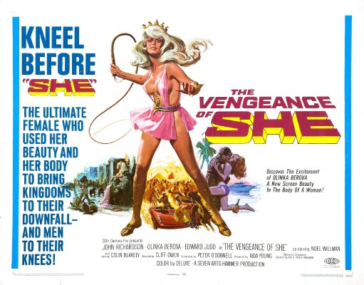 What I've Just Watched Part 4: There And Back Again 12285__x400_vengeance_of_she_poster_02