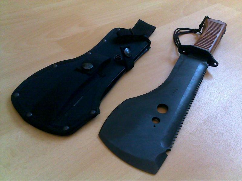 """[revue matériel] Ontario """"grand couteau machette"""" spec plus onsp8 14042012164"""