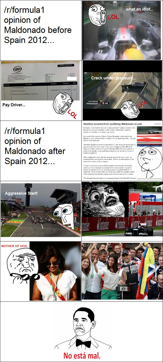Pastor MalDONado Memes aka the greatest F1 driver of all time DJdxO