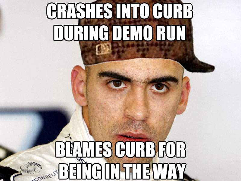 Pastor MalDONado Memes aka the greatest F1 driver of all time WSQya