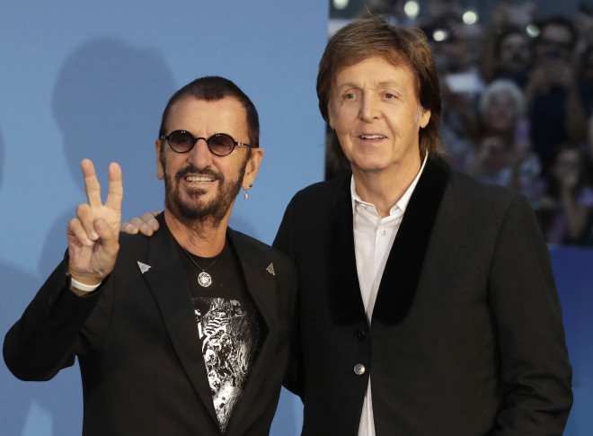 ¿Cuánto mide Ringo Starr? - Altura - Real height APTOPIX-Britain-Beatles-Movie-World-Premiere-660x485