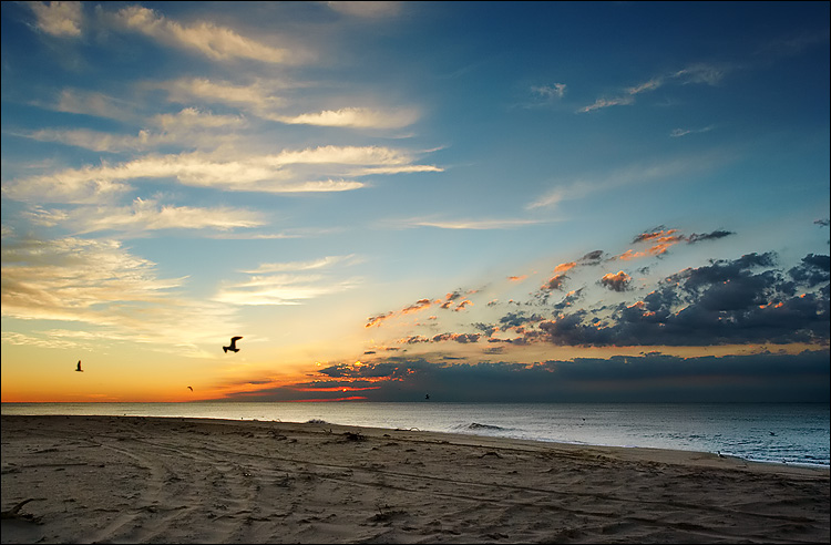 صور من الطبيعة Hampton_beach_sunrise