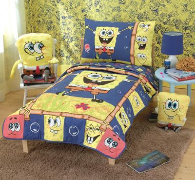 بلايز اسبونج بوب 2010 SpongeBobBeddingandDecor