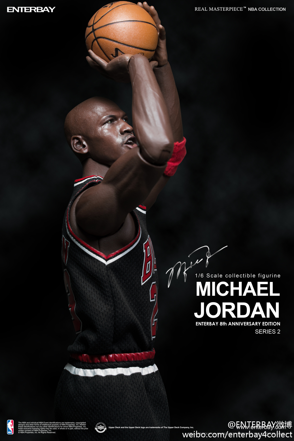 [ENTERBAY] NBA Real Masterpiece - Michael Jordan | Series 2 - 8th Anniversary Edition 685ebd96gw1e6ni9ua56bj20xc1e0am9