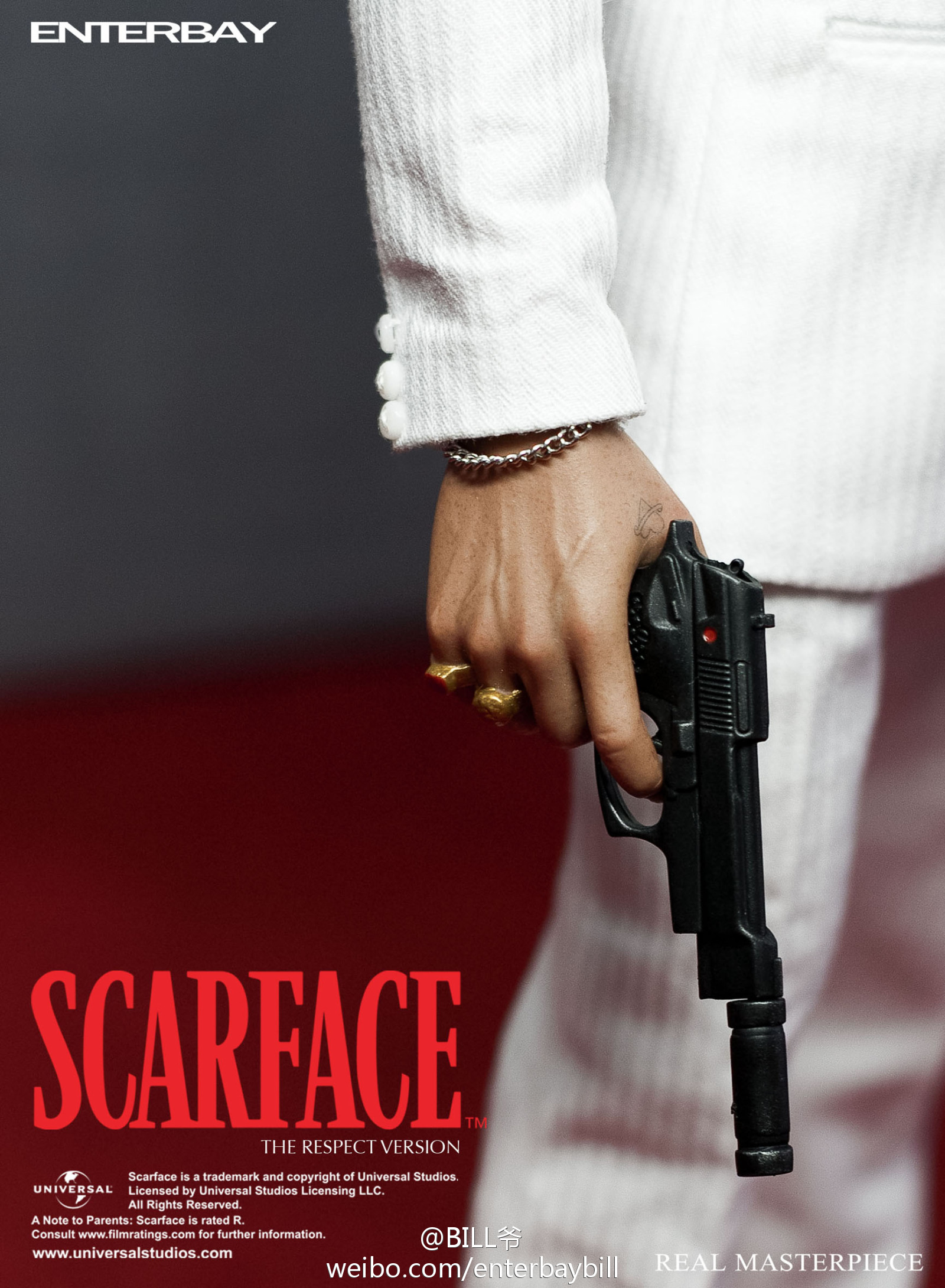 "[Enterbay] Scarface ""Respect Version"" - 1/6 scale  69464edegw1doyiw79f2lj"