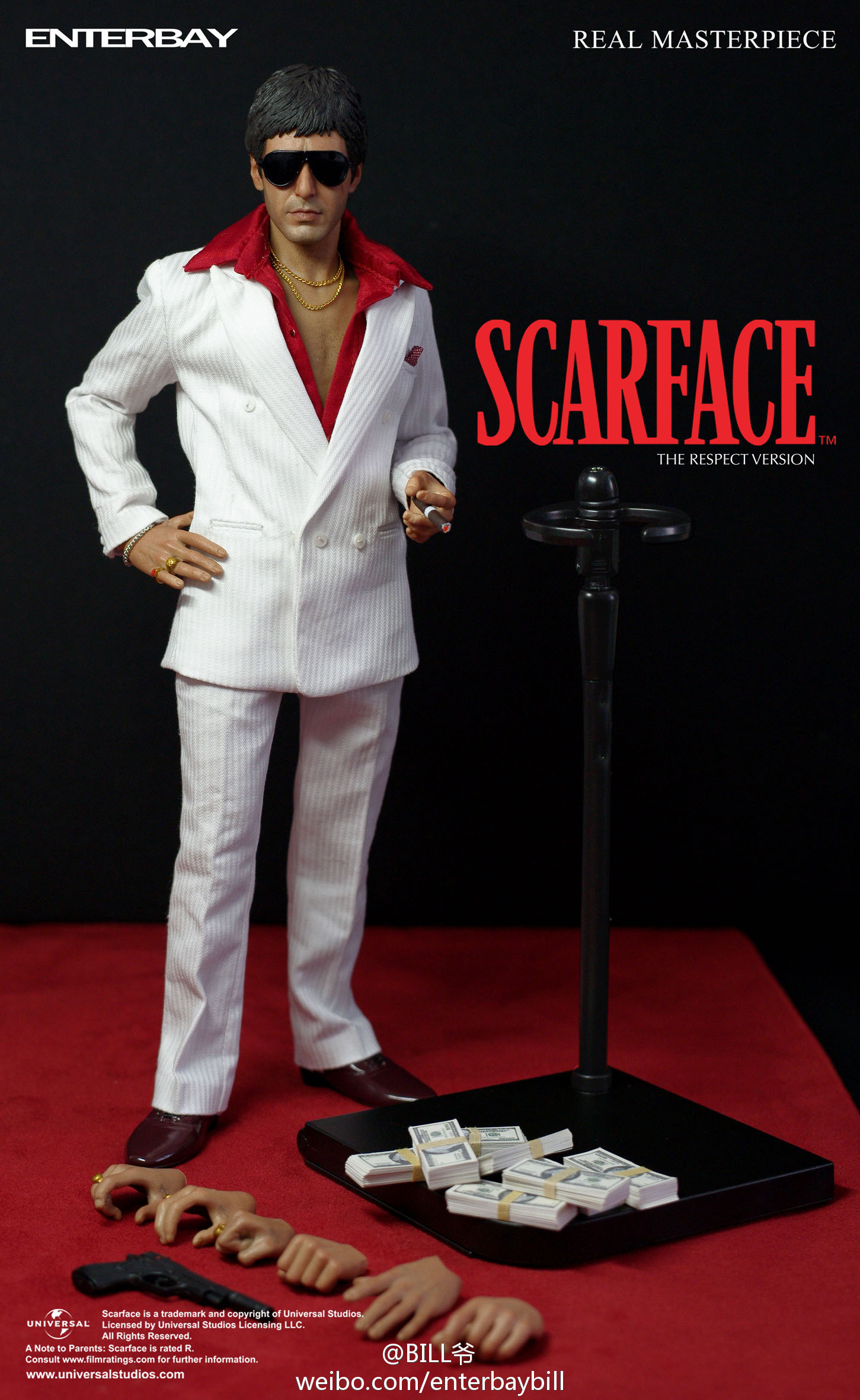 "[Enterbay] Scarface ""Respect Version"" - 1/6 scale  69464edegw1doyixu37xnj"
