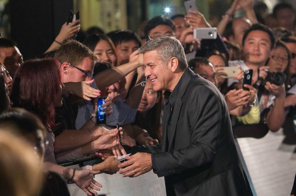 George Clooney in Shanghai Tomorrowland Premier 22. May 2015 61e75fb8gw1esdej3wwocj215y0rswp6