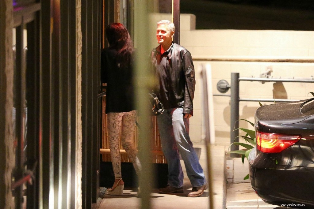 George Clooney and Amal Alamuddin on Double Date 693f7a02jw1eeworg0923j215o0rsk0p