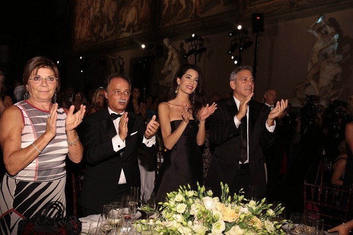 George Clooney and Amal to visit the Celebrity Fight Night Foundation in Florence - Page 6 693f7a02jw1eker3he6j8j20jc0cwtau