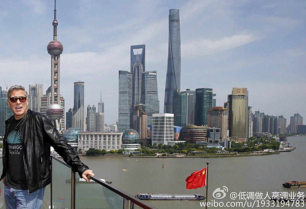 George Clooney in Shanghai Tomorrowland Premier 22. May 2015 733a361fgw1esd3m88y0tj21kw12vn8w