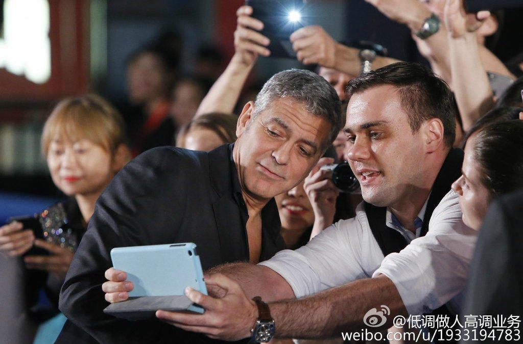 George Clooney in Shanghai Tomorrowland Premier 22. May 2015 733a361fgw1esdc5olkutj21kw11ik0g