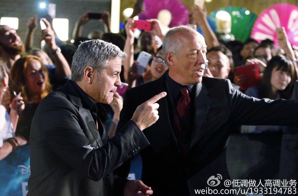 George Clooney in Shanghai Tomorrowland Premier 22. May 2015 733a361fgw1esdc6u502uj21kw11k11y