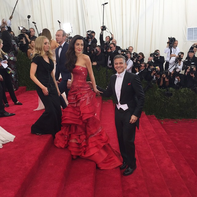 George Clooney at the Met Gala 4th May 2015 - Page 2 693f7a02jw1ert96aytmpj20hs0hswhd
