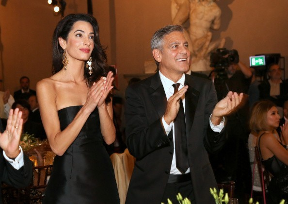 George Clooney and Amal to visit the Celebrity Fight Night Foundation in Florence - Page 6 693f7a02gw1ekeodmp7urj20gi0bowfs