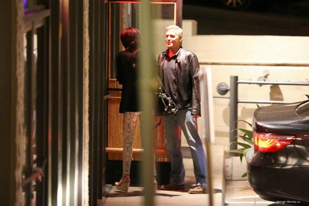 George Clooney and Amal Alamuddin on Double Date 693f7a02jw1eeworexwsdj215o0rsaj2