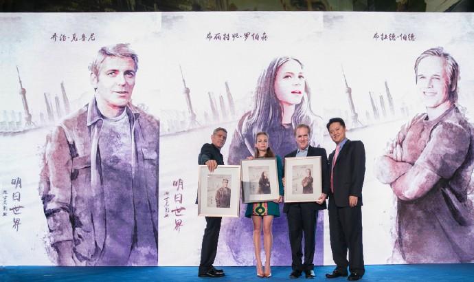 George Clooney in Shanghai Tomorrowland Premier 22. May 2015 61e75fb8gw1esdej2m0f2j21ap0rsqeu