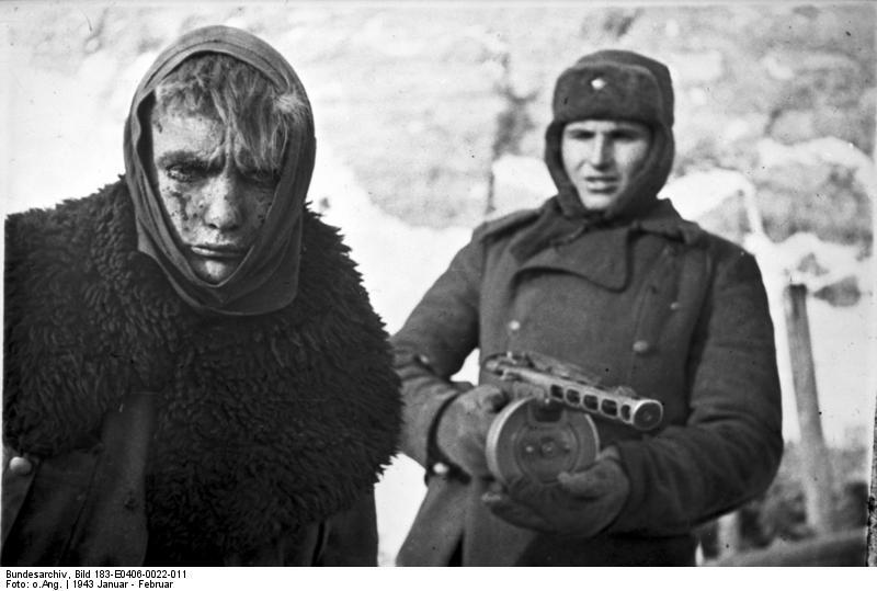 PPSH 41 - El arma que gano la Gran Guerra Patria Battle_stalingrad9