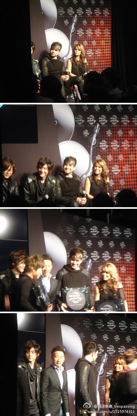Adam Lambert's press conference for Hennessy event in Shanghai. 01.12.12 5a5beea7gw1dzekyjev3tj