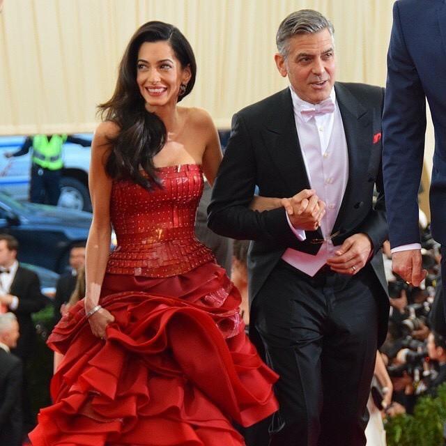 George Clooney at the Met Gala 4th May 2015 - Page 2 693f7a02jw1ert96ak0ydj20hs0hsq5c