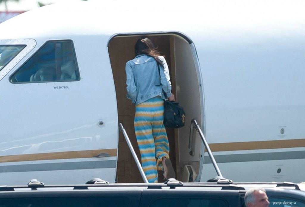George Clooney and Amal leaving LA 693f7a02jw1eg027kjbnnj215n0sagqa