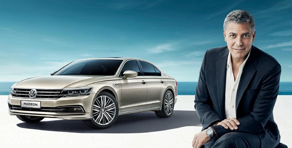 George Clooney in SAIC Volkswagen NEW advert! 693f7a02jw1f8zo3wdadlj21hc0r4zuz