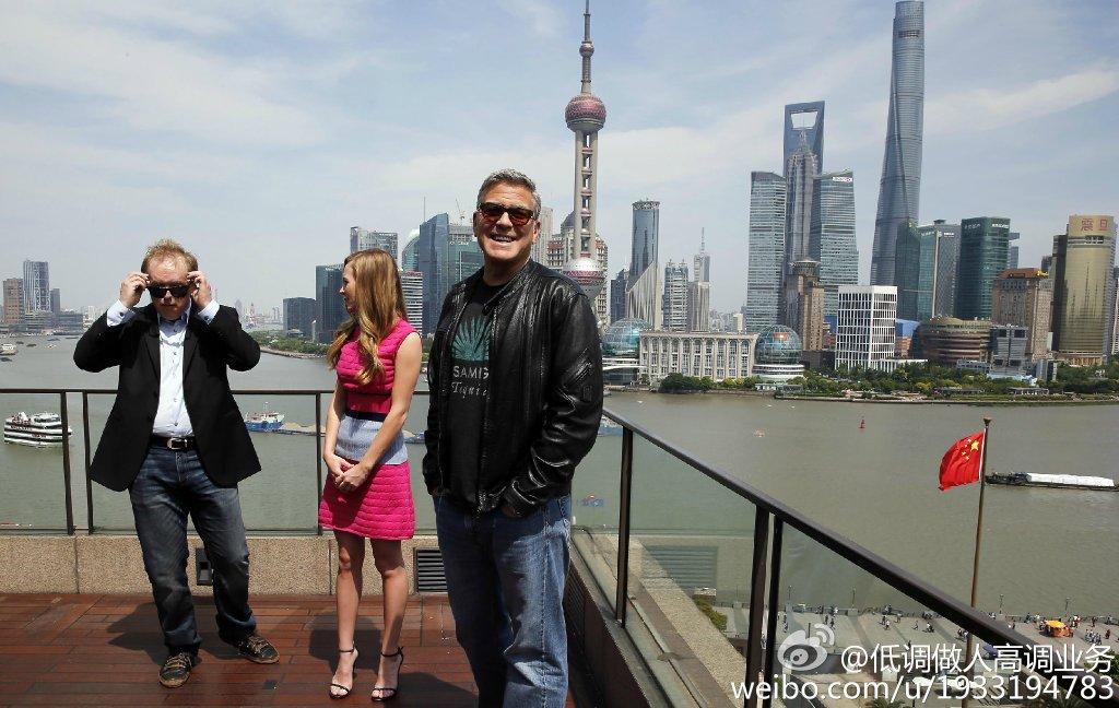 George Clooney in Shanghai Tomorrowland Premier 22. May 2015 733a361fgw1esd3mcrjaaj21kw0zz15f
