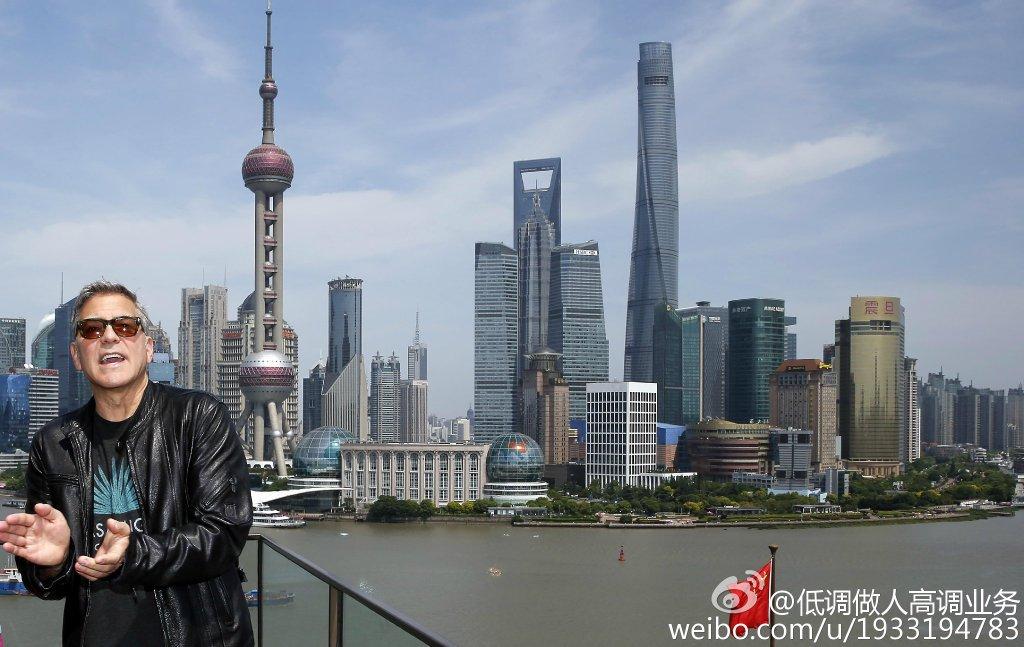 George Clooney in Shanghai Tomorrowland Premier 22. May 2015 733a361fgw1esd3mj1127j21kw0zx7fh