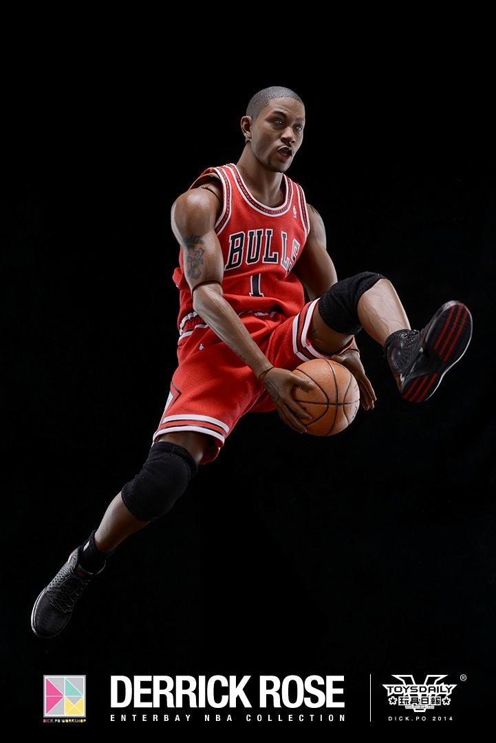 [Enterbay] NBA Real Masterpiece: Derrick Rose (Chicago Bulls) 9020f90fgw1edumtt15gij20k10u0jvb