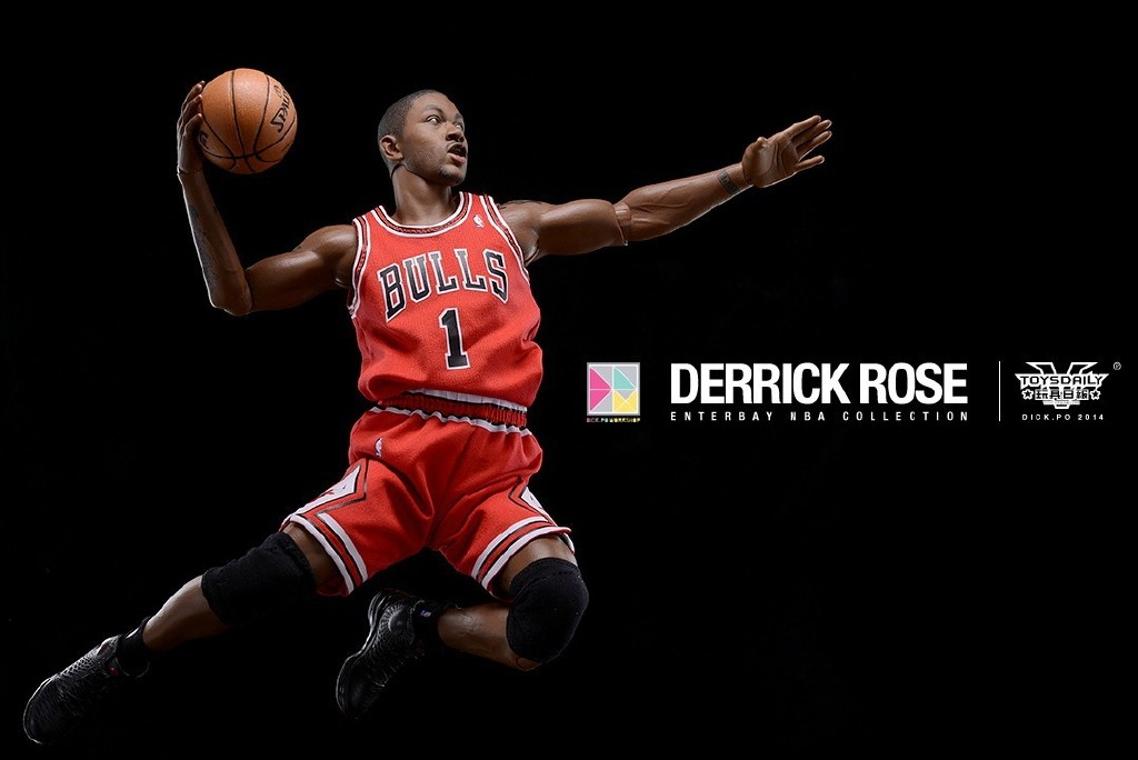 [Enterbay] NBA Real Masterpiece: Derrick Rose (Chicago Bulls) 9020f90fgw1edumtt22mvj20u00k1tav