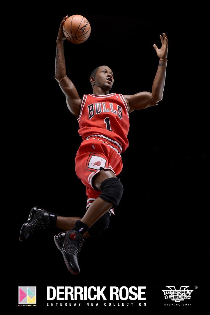[Enterbay] NBA Real Masterpiece: Derrick Rose (Chicago Bulls) 9020f90fgw1edumtutcmzj20k10u077d
