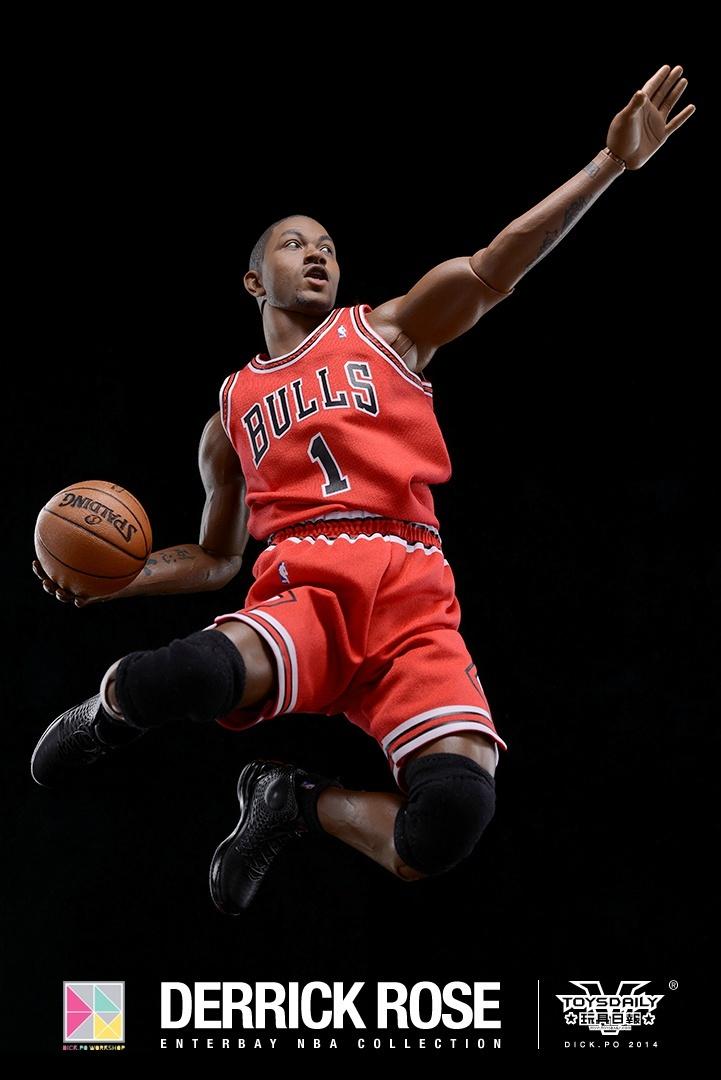 [Enterbay] NBA Real Masterpiece: Derrick Rose (Chicago Bulls) 9020f90fgw1edumtw6hghj20k10u0wip