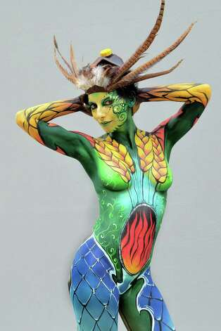 filles sexy Photographie Charme vetements sexy / nudité, Bodypainting, humour... 628x471
