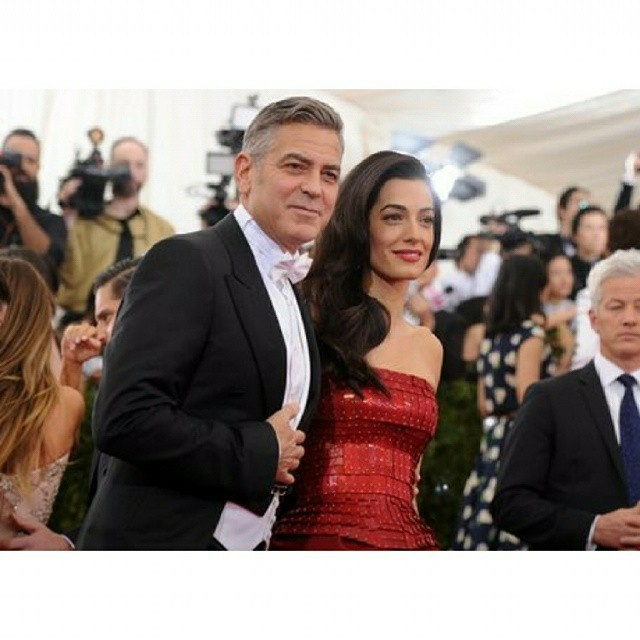 George Clooney at the Met Gala 4th May 2015 - Page 2 693f7a02jw1ert969i3lgj20hs0hstai