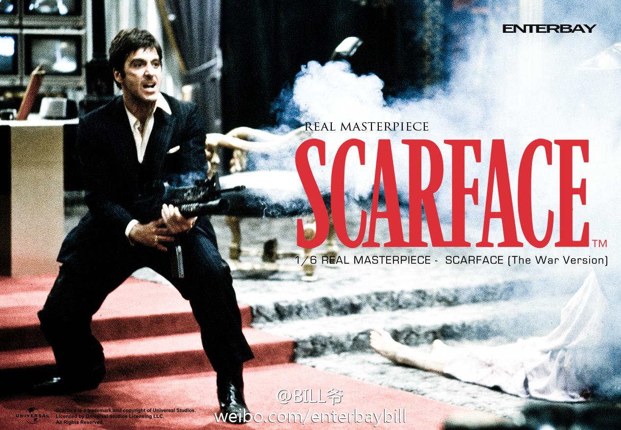 """[Enterbay] Scarface """"War Version"""" - 1/6 scale - LANÇADO!!! 69464edegw1dmomctt709j"""