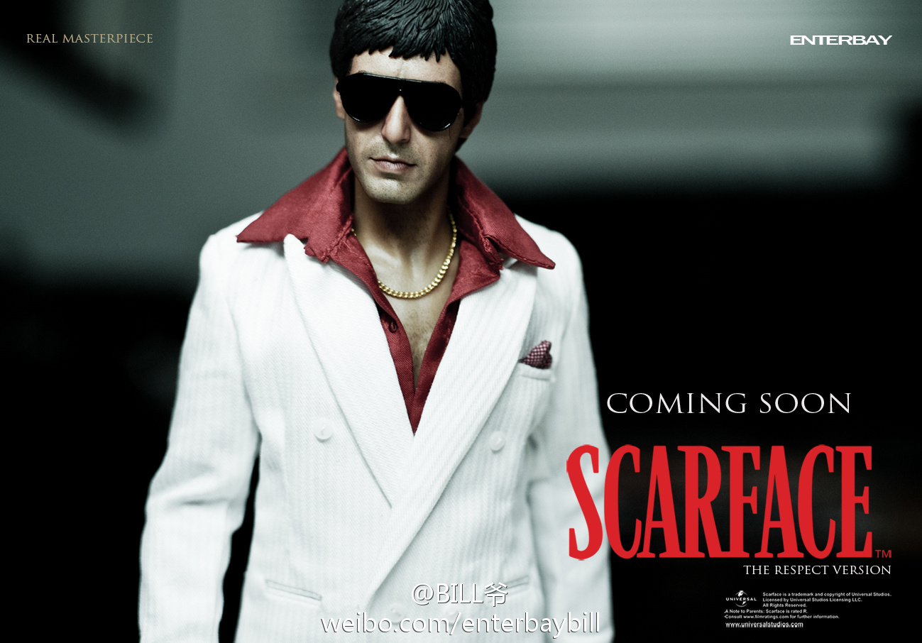 "[Enterbay] Scarface ""Respect Version"" - 1/6 scale  69464edegw1dov8977znyj"