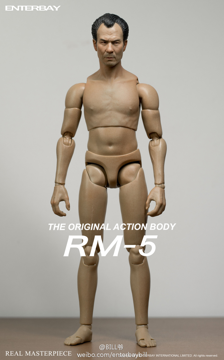 [Enterbay] Original Action Body - RM-5 With Style - 313 69464edegw1doyhls1uqfj