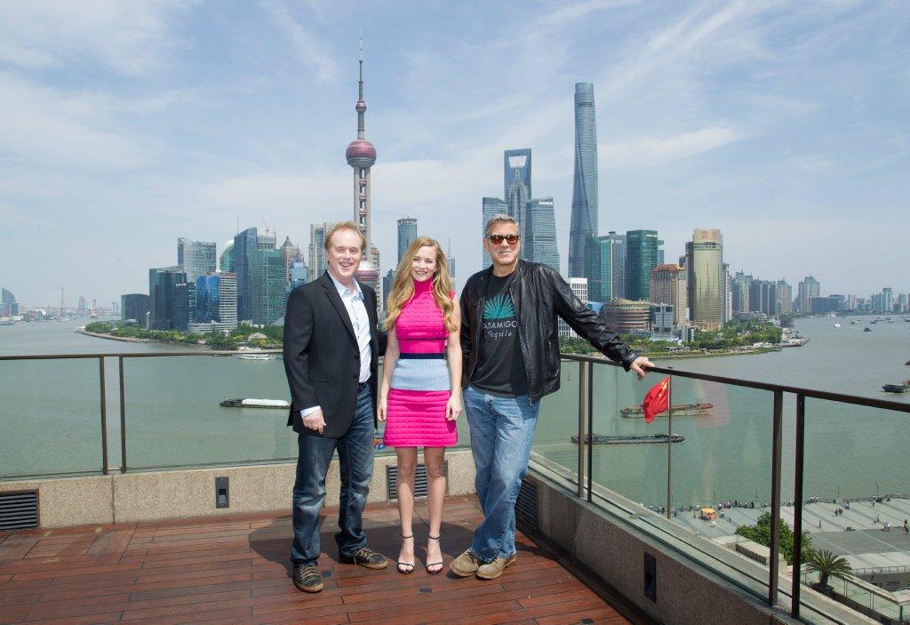 George Clooney in Shanghai Tomorrowland Premier 22. May 2015 61e75fb8gw1esd77m0925j21kw131gxl