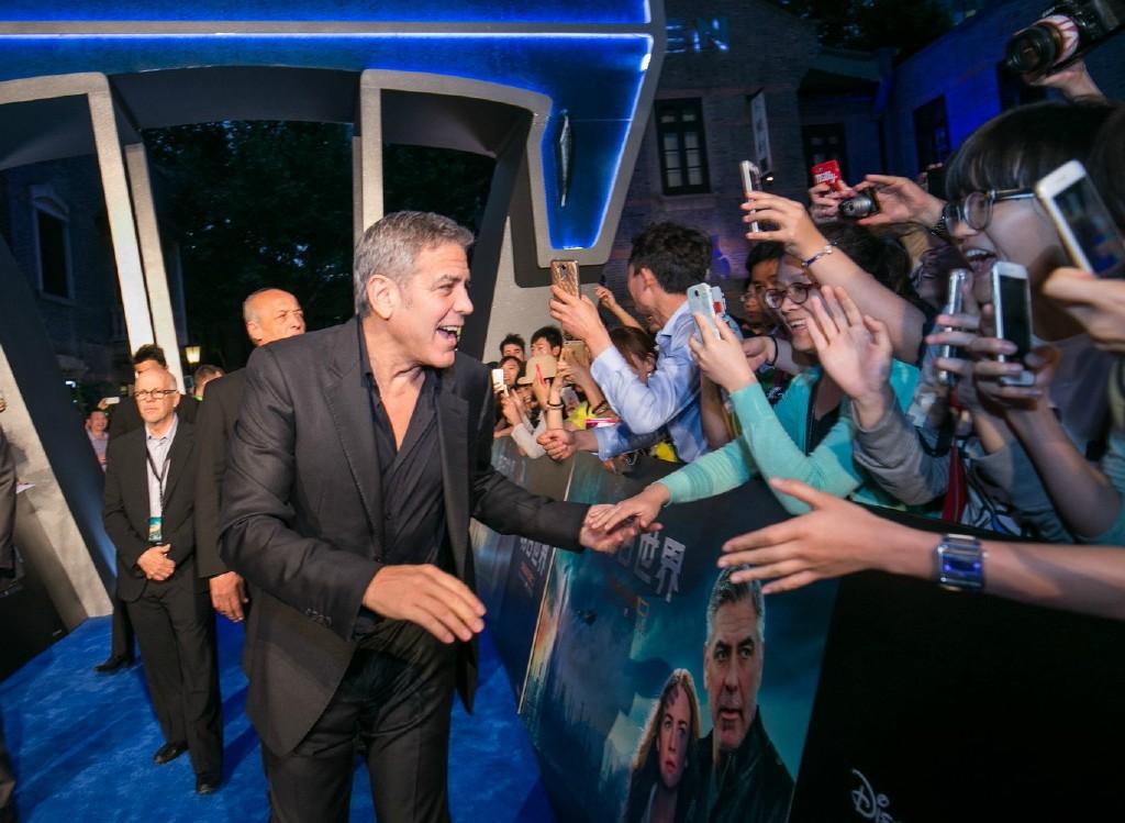 George Clooney in Shanghai Tomorrowland Premier 22. May 2015 61e75fb8gw1esdej3fs1rj21200rsn52