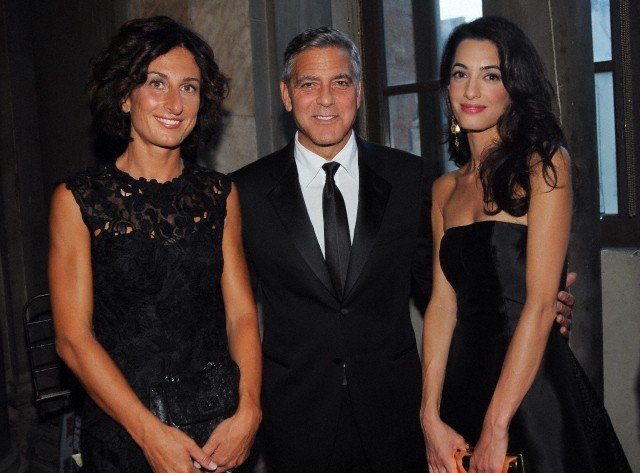 George Clooney and Amal to visit the Celebrity Fight Night Foundation in Florence - Page 6 693f7a02jw1eker3jz1d7j20hs0d575y
