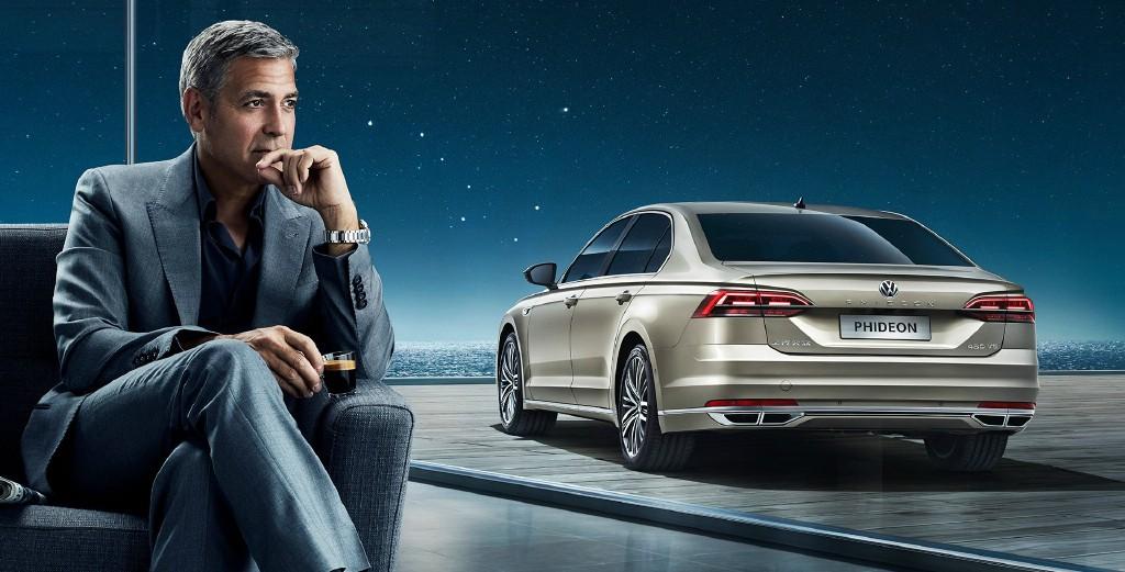George Clooney in SAIC Volkswagen NEW advert! 693f7a02jw1f8zo3nifglj21hc0r4163