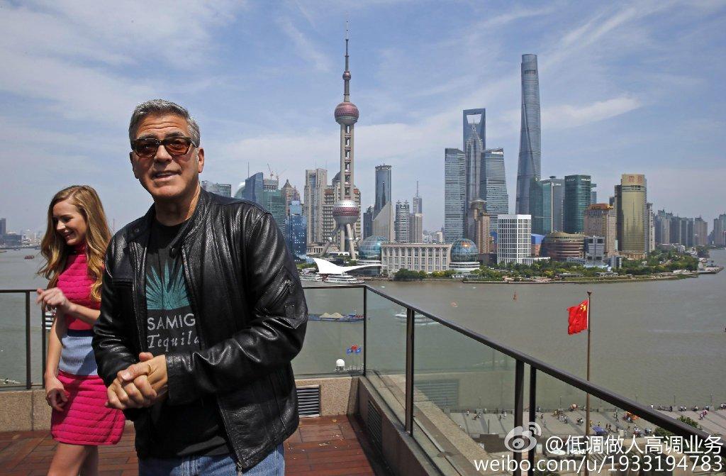 George Clooney in Shanghai Tomorrowland Premier 22. May 2015 733a361fgw1esd3mn7x6dj21kw11awpa