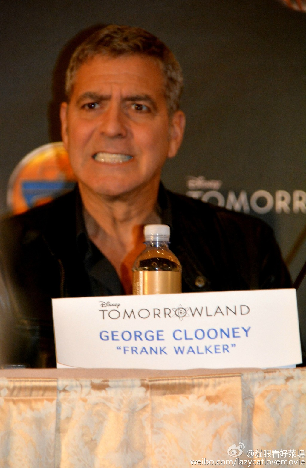 George Clooney at the press conference of TOMORROWLAND 8th May 2015 73c5c989gw1ery0m6mfbwj21er25iwzx