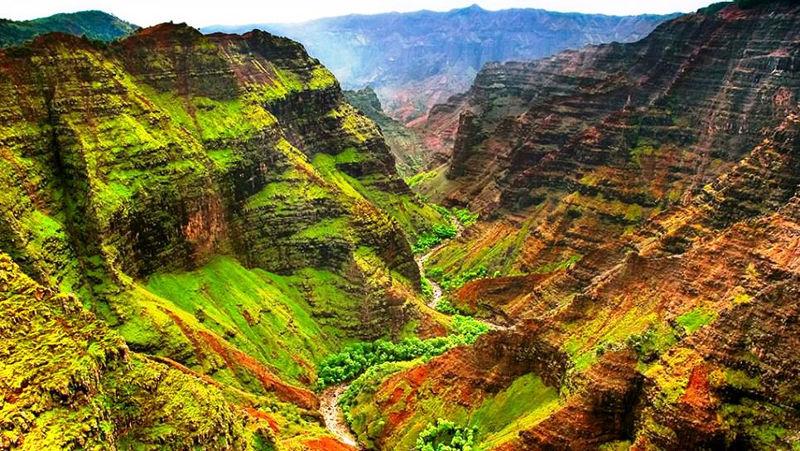 Kanjon reke Blajda ( Blyde) Vaimea_havaji