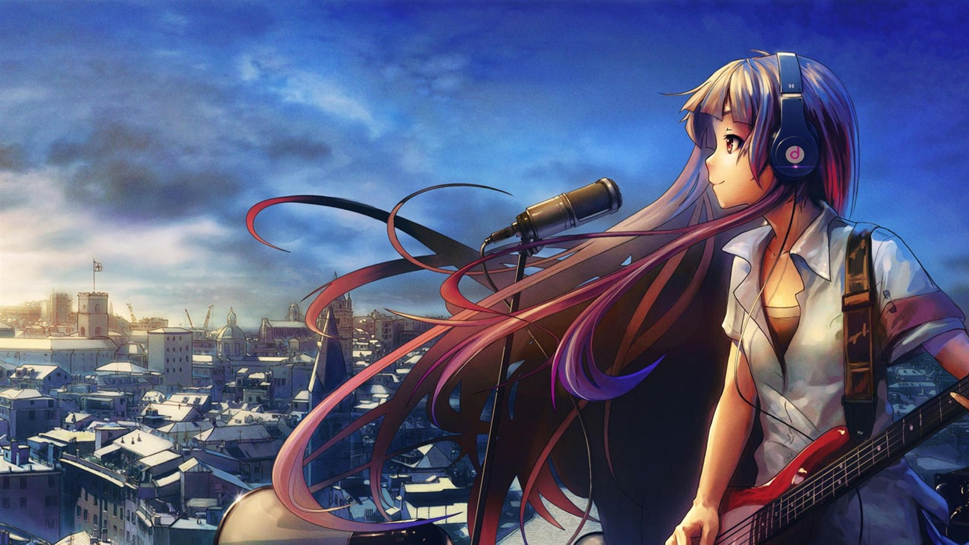 100 Wallpapers de anime HD Girl_Guitar_Music-Anime_design_HD_wallpaper_1920x1080
