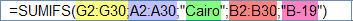 شرح دالة SUMIFS في إكسل 2007  Funexcel_8_4_11_3